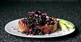 Slow-cooked <b>Black</b> Bean Ragout - <b>The Happy</b> Foodie