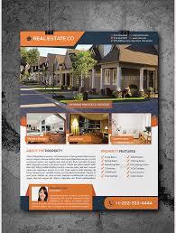 psd real estate marketing flyer templates amp premium  real estate flyer template