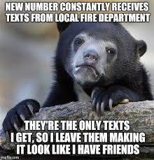 Helps when I'm feeling lonely - Imgflip via Relatably.com