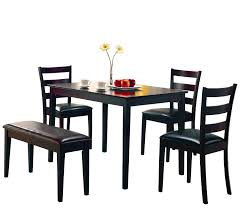 hardware dining table exclusive: amazoncom coaster pc dining table chairs amp bench set cappuccino finish table amp chair sets