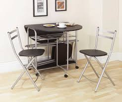 Space Saving Kitchen Table Sets Impressive Ideas Small Folding Dining Table Clever Design 30 Space
