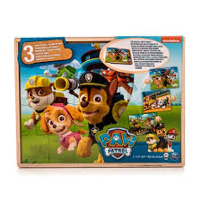 <b>Paw Patrol деревянный Щенячий</b> Патруль (colorful) - отзывы Paw ...