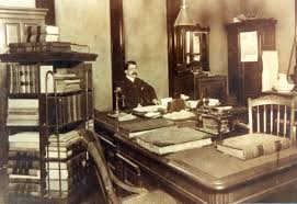 richard woodward hutson in the us clerks office 1904 century office