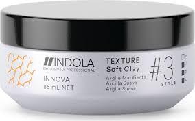 Indola <b>Глина для волос</b> Texture Soft Clay Innova Style # 3 Hold, 85 мл