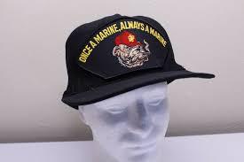 Головной убор для мужчины Vintage Once a <b>Marine</b> Always a ...