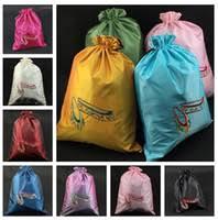 Drawstring <b>Gift Bag</b> Embroidered NZ