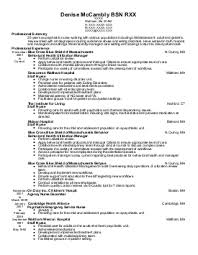 nursing resume examples in waltham  ma   livecareerdenise mccambly bsn r   psychiatric nurses resume   waltham  massachusetts