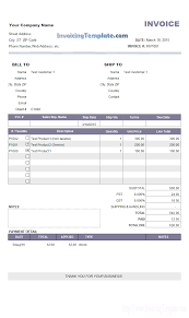 invoice sample for payment clean design invoice format partial payment and payment history