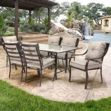 lavallette 7 piece outdoor dining set with cushions outdoor dining set featuring rectangular table and six alexandria balcony set high quality patio furniture