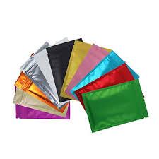 <b>Color Zipper</b> Plastic Bag