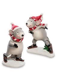"<b>Фигурка</b> ""Пара мышат на коньках"" <b>Art</b> Christmas 10298755 в ..."