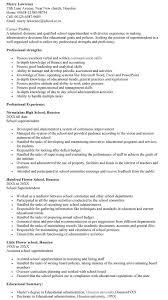 sample resume school superintendent resume sle superintendent resume
