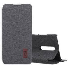 bakeey flip shockproof fabric <b>soft silicone</b> edge <b>full body</b> protective ...