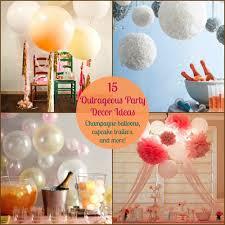 images fancy party ideas:  decorations