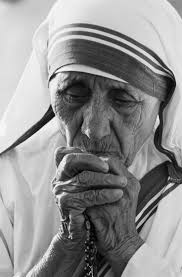 mother teresa s humility list get fed a catholic blog to feed 7 01 1988 tijuana mother teresa 77 praying