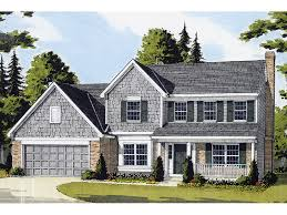 Hodelle Colonial Two Story Home Plan D    House Plans and MoreTraditional  Colonial Style Home