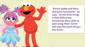 Image result for muppet with autism on sesame st