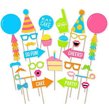 Birthday Party <b>Props for Kids</b>