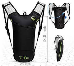 U`Be Hydration <b>Pack</b> Water <b>Backpack</b> - Kids <b>Women Men</b> ...