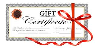 gift certificates rebecca o grady photographics gift certificate