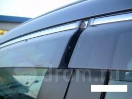 <b>Дефлекторы боковых окон</b> Hyundai Solaris 2010-2017 седан (с ...