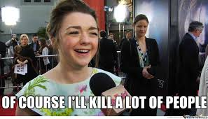 Arya Stark by recyclebin - Meme Center via Relatably.com