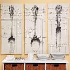 Wall Art Kitchen Decoration Knife Fork Spoon Wall Art Kitchen Decor Pinterest Change
