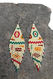 Mismatched <b>Asymmetric</b> Unusual Abstract earrings Ivory Native ...