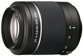 Sony SAL55200-2 A Mount - APS-C <b>DT 55</b>-200mm F4-5.6 SAM ...