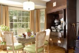 fluorescent lighting repurposed armoire for china inviting breakfast nook breakfast area lighting