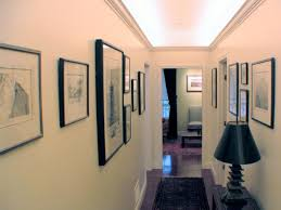 hallway gallery ceiling ambient lighting