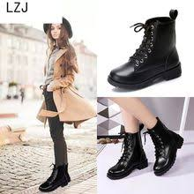 lace up middle <b>boots</b>