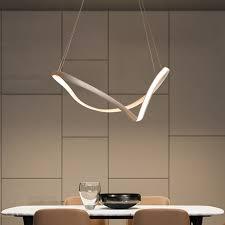 Whtie or Black <b>Creative Modern LED Chandelier</b> For Living room ...
