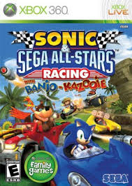 Sonic & Sega All Stars Racing RGH + DLC Xbox 360 [Mega+] Xbox Ps3 Pc Xbox360 Wii Nintendo Mac Linux