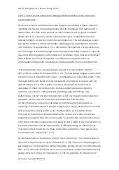 sociology minor essay