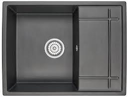 Купить <b>Кухонная мойка GRANULA 6501</b>, кварц, 49.5см х 65см в ...