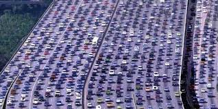 Image result for los angeles freeway traffic jam