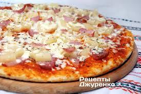 <b>Гавайская пицца</b> - Рецепты Джуренко