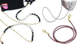 <b>Face Mask</b> Accessories: Chains, Lanyards and Ear Savers ...
