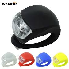 WasaFire New <b>Led Bike</b> Lights <b>Silicone Bicycle</b> Light Head Front ...