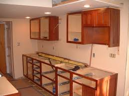installing kitchen