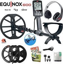 Minelab Equinox 600 Metal Detector Bundle with 6 ... - Amazon.com