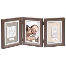 <b>Рамочка</b> тройная <b>Baby Art</b> «Классика»; коричневая артикул ...