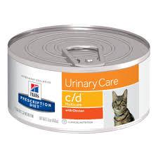 <b>Hill's Prescription Diet</b> c/d <b>Multicare</b> Urinary Care Chicken Wet Cat ...