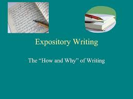 examples expository writing intro to expository writing