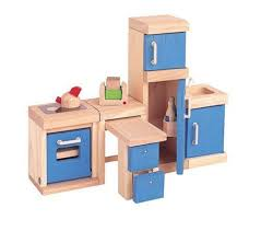Amazon com  Plan Toy Doll House Kitchen   Neo Style  Toys  amp  Games