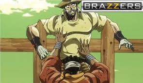 Jojo's Bizarre Adventure-Brazzers Meme by brandonale on DeviantArt via Relatably.com
