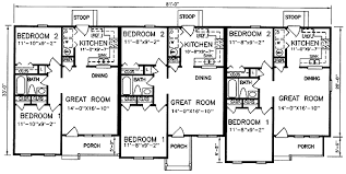 images about Multi Unit Plans on Pinterest   Duplex Plans       images about Multi Unit Plans on Pinterest   Duplex Plans  House plans and Traditional House Plans