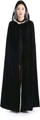 Fenghuavip <b>Halloween Costume Capes</b> Black <b>Party Dress Cloak</b> at ...