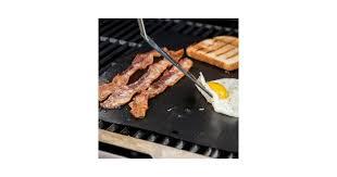 <b>Non</b>-<b>stick BBQ Mat Heat-resistant</b> Grilling Pad- Black - Matt Blatt